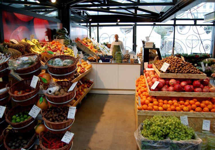 ortofrutta, alimentari, negozi bio