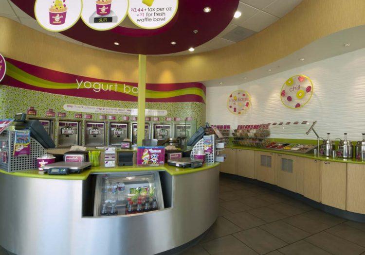 gelaterie, yogurterie